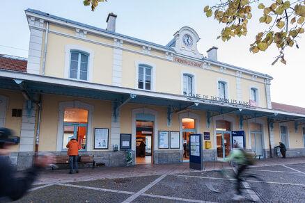 Train station Thonon-les-Bains
