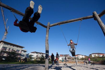 Aire de jeux du parc du Pillon
