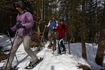 """""""Col du Feu - Foyer des Moises"""" Snowshoe Trek"""