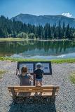 © Sentier de découverte du lac des Mines d'or - <em>SIAC-Photographe A. Berger</em>