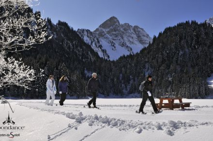 """Snowshoeing - """"Chapels and shrines"""""""