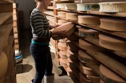 Cheese maker and stable l'Or Blanc