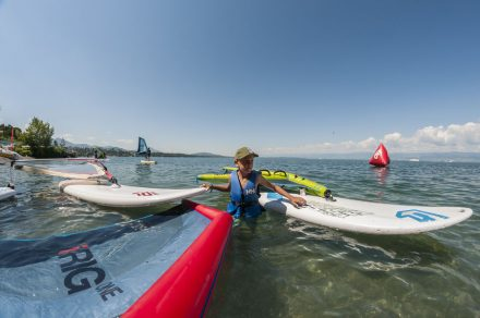Spezielle Familien : Stand-up paddle