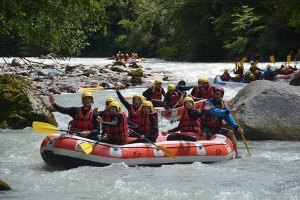 Rafting Découverte