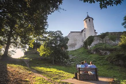 Visite guidée aux châteaux des Allinges
