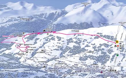 La Combe via Mont-Caly
