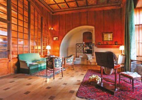 chateaux et vins - petit salon de madame - Fondation ripaille