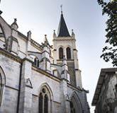 Basilique st François de sales vue extérieur