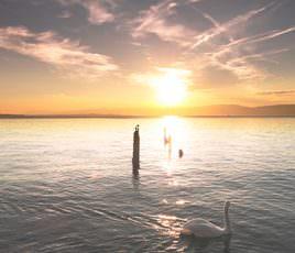 350-300px sunset lake