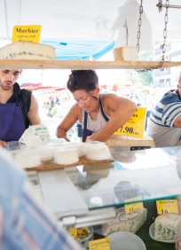 Marché des produits du terroir à Thonon