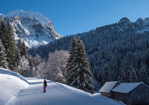 station ski proche thonon roc d'enfer