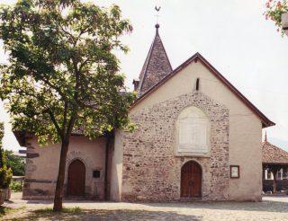 chapelle de Concise - façade